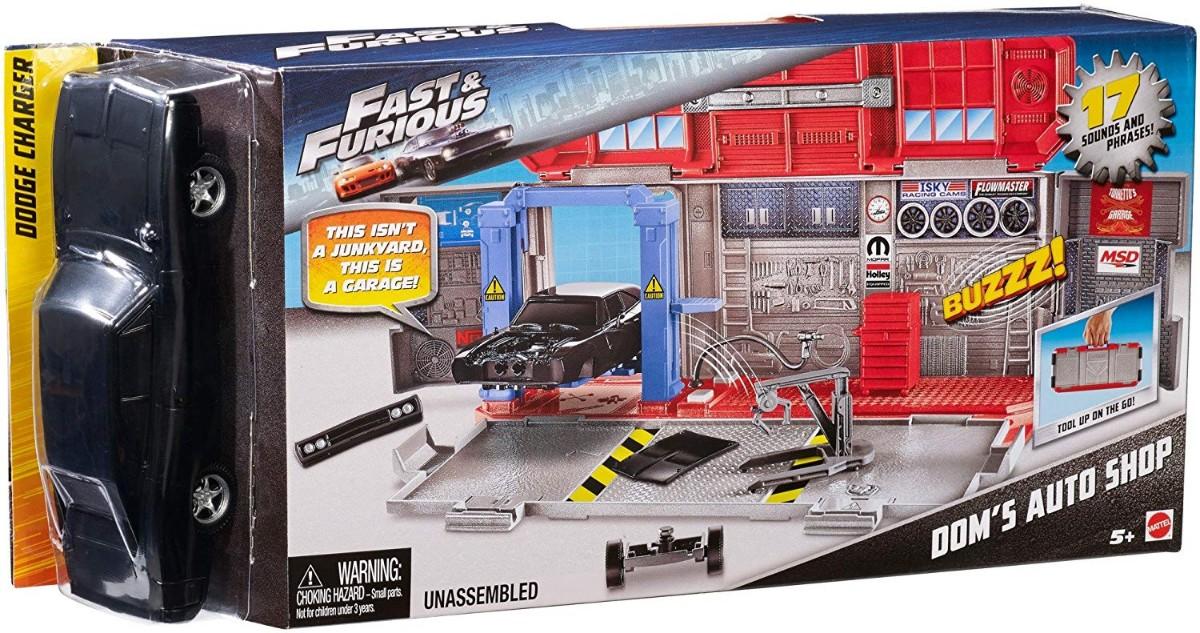 Fast Furious Doms Auto Shop Argosy Toys