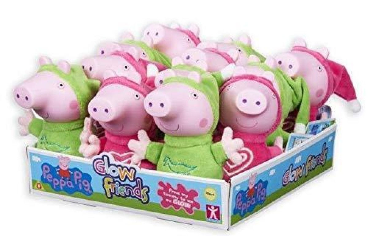 Glow Friends Peppa Pig And Friends Assorted
