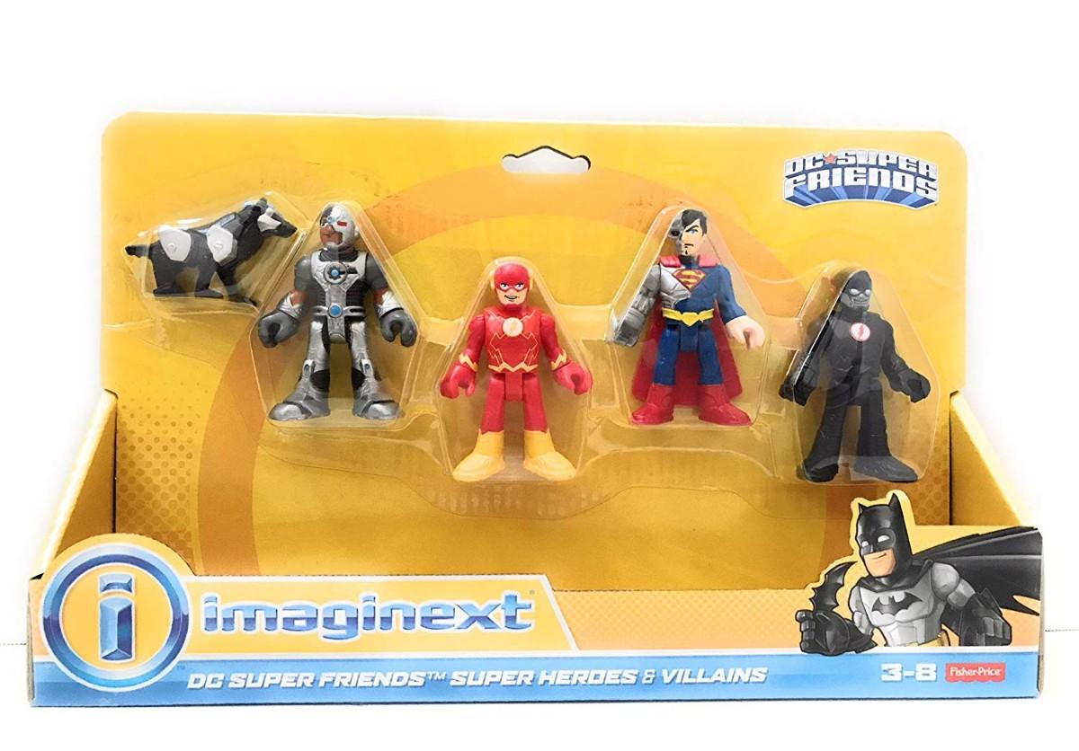 imaginext  Imaginext DC Super Heroes & Villains - with robot dog - Argosy Toys