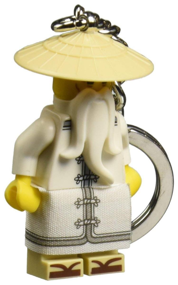 Lego Ninjago Sensei Wu Keychain - Argosy Toys