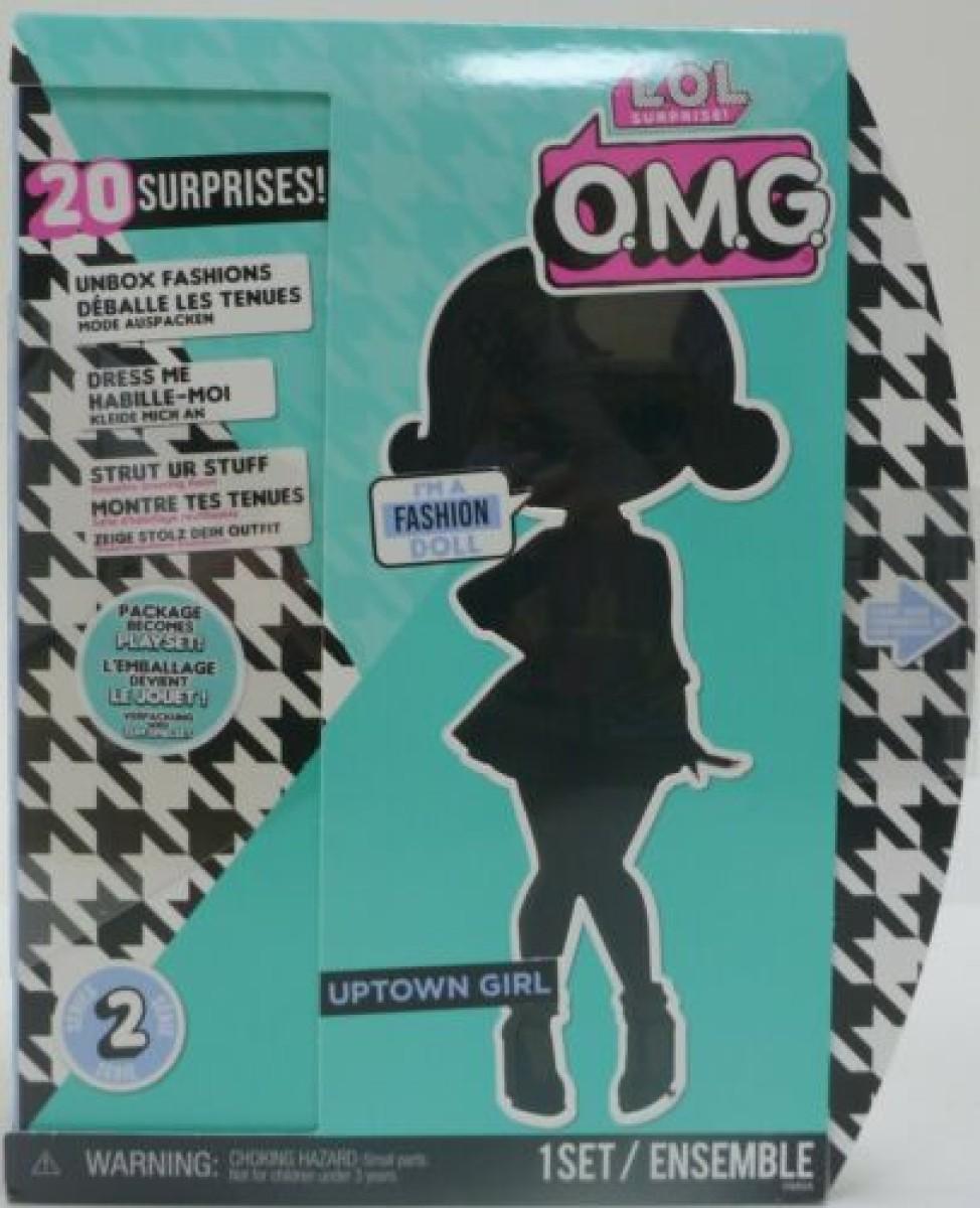 Lol Omg Uptown Girl B B Fashion Doll Argosy Toys