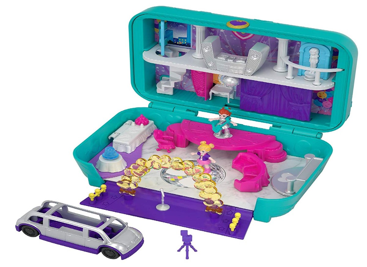 Polly Pocket FRY41 Hidden Places Dance Par-taay! - Argosy Toys