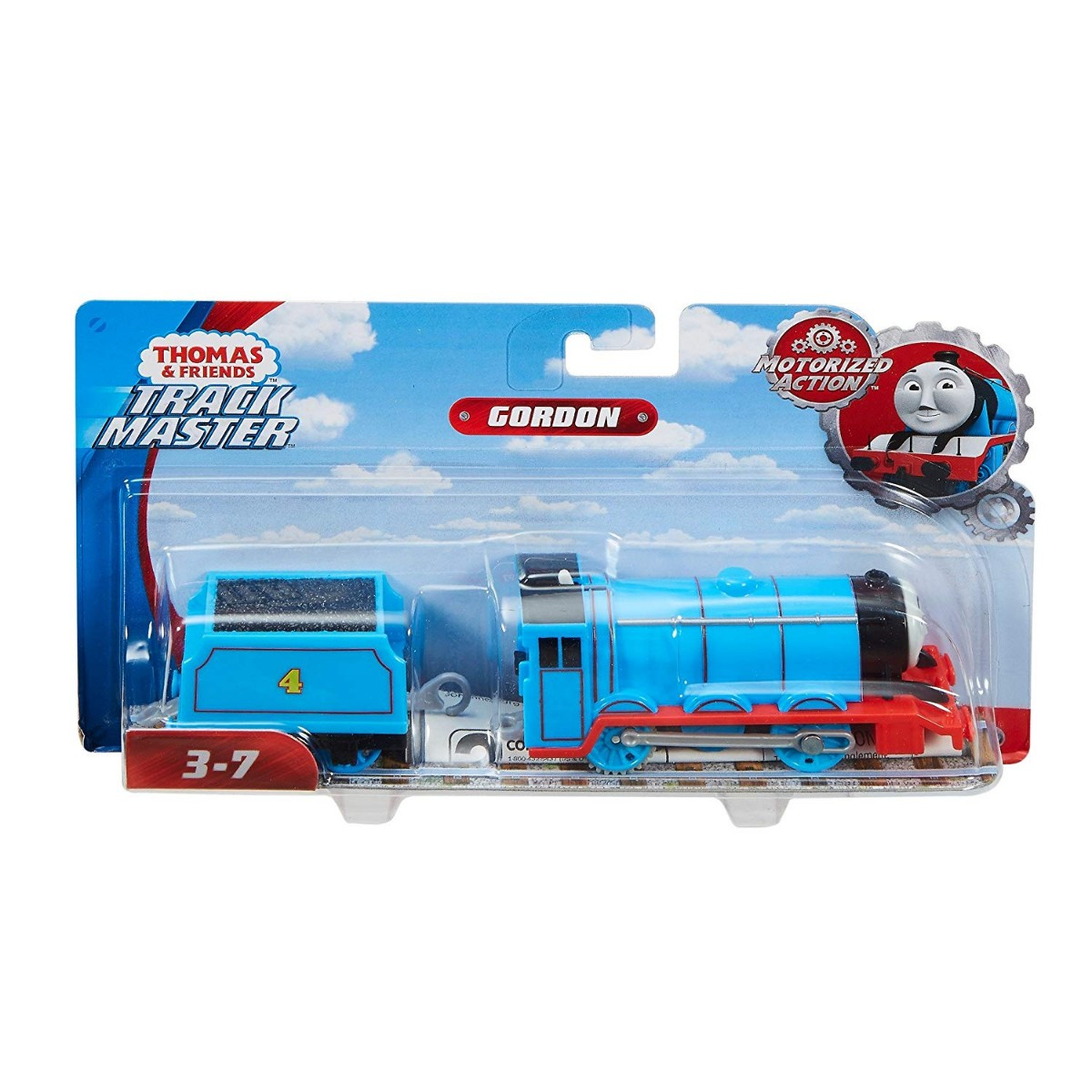 new in box Thomas the Tank engine Trackmaster Gordon