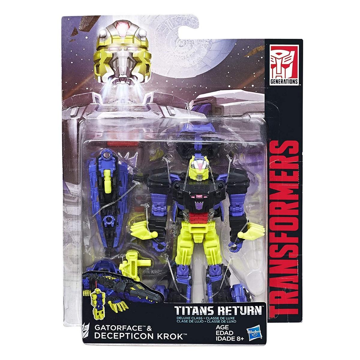 size 40 b3066 95317 Transformers Gatorface   Decepticon Krok - Argosy Toys