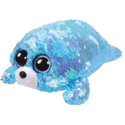 TY Flippable Beanie - 36676 - Waves Aqua Seal bc3b4fb0122a