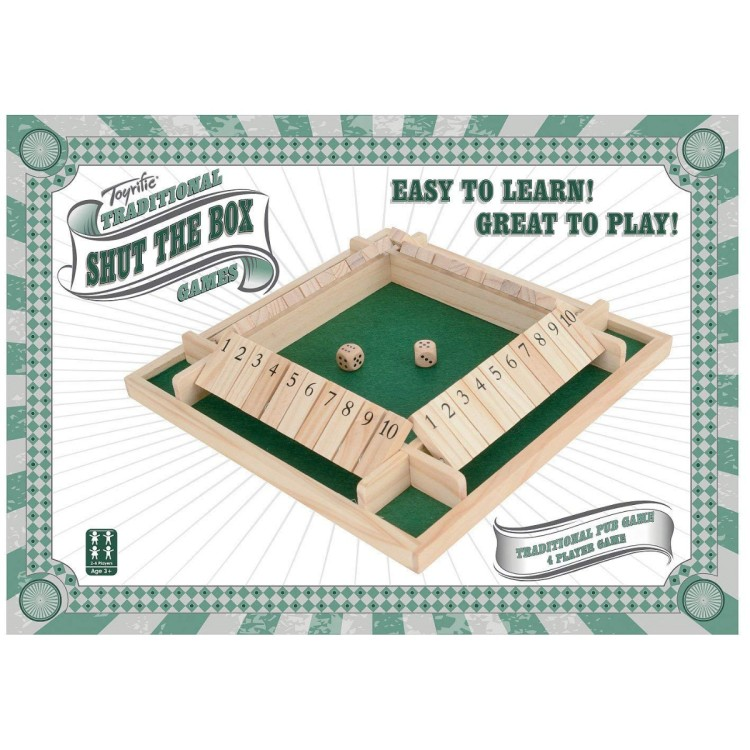 4 Player Shut the Box WBL TY5968