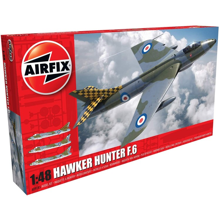 Airfix 1:48 Hawker Hunter F.6 A09185