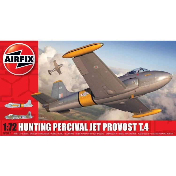 Airfix 1:72 Hunting Percival Jet Provost T.4 A02107