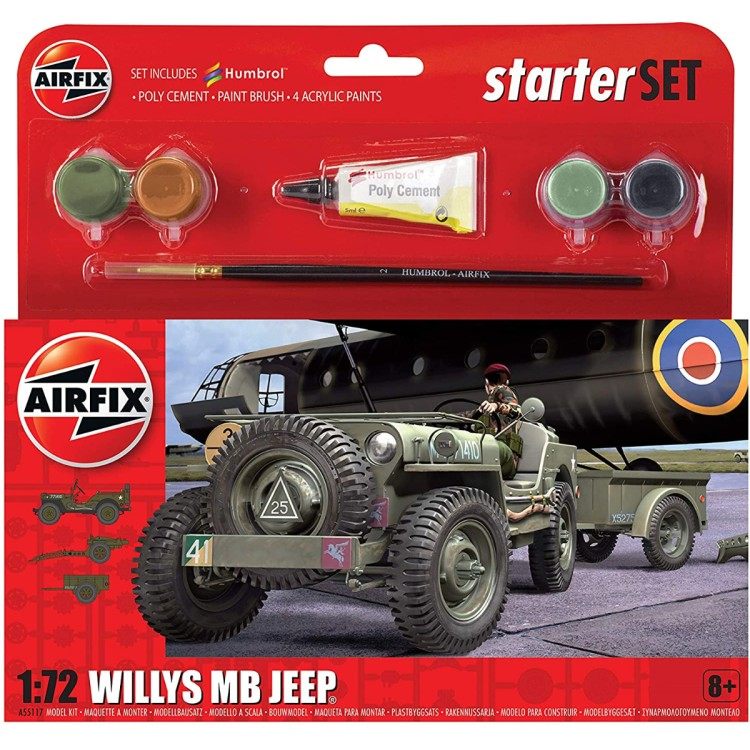 Airfix 1:72 Willy's MB Jeep A55117