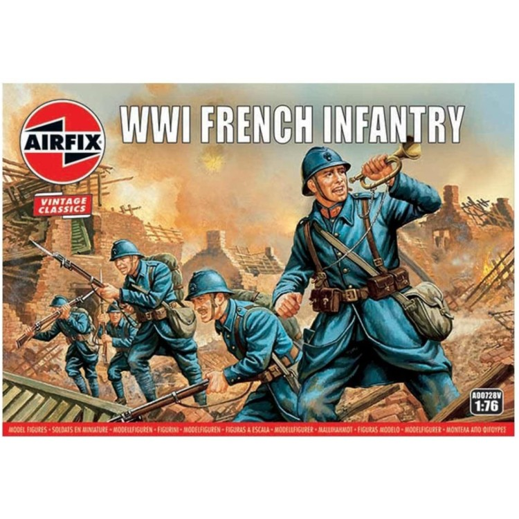 Airfix 1:76 WWI French Infantry A00728V