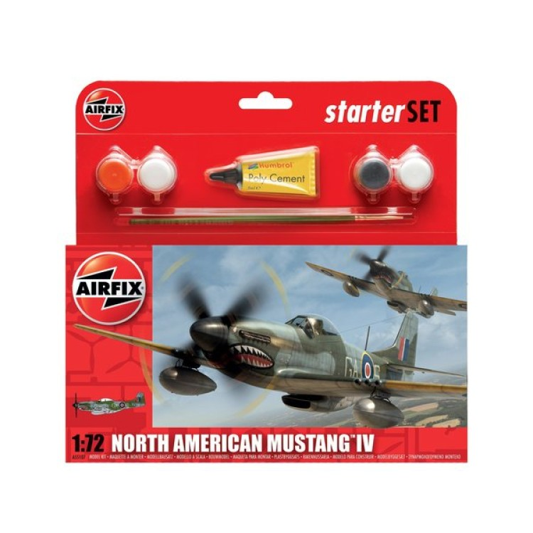 Airfix North American Mustang IV 1:72 A55107