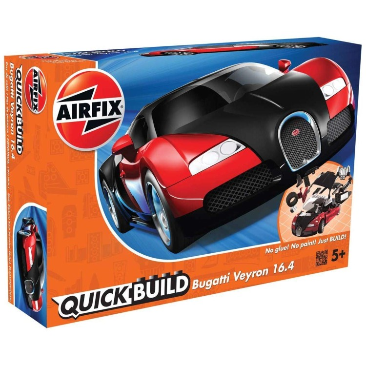 Airfix Quick Build Red Bugatti Veyron