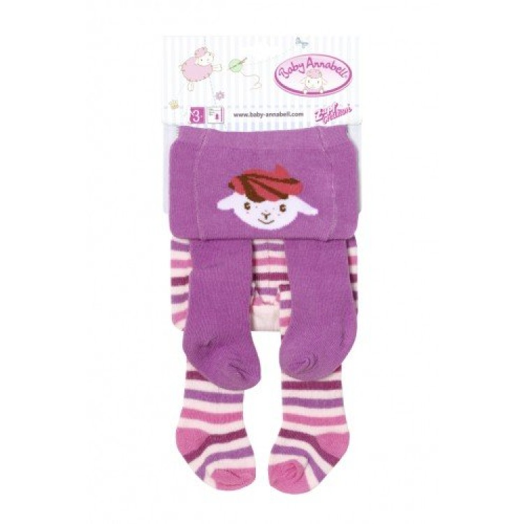 Baby Annabell 700815 Tights 2 pack