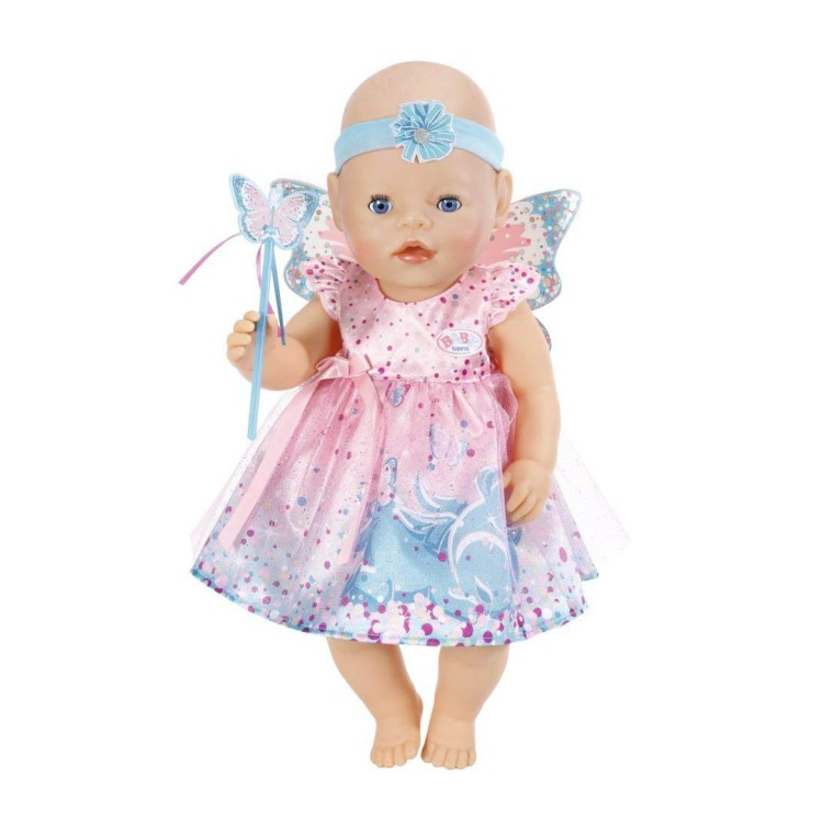 Baby Born 823644 Sparkle wing dress
