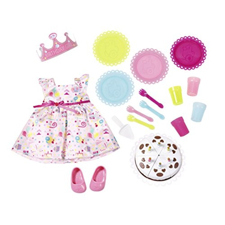 Baby Born Deluxe Partytime Set