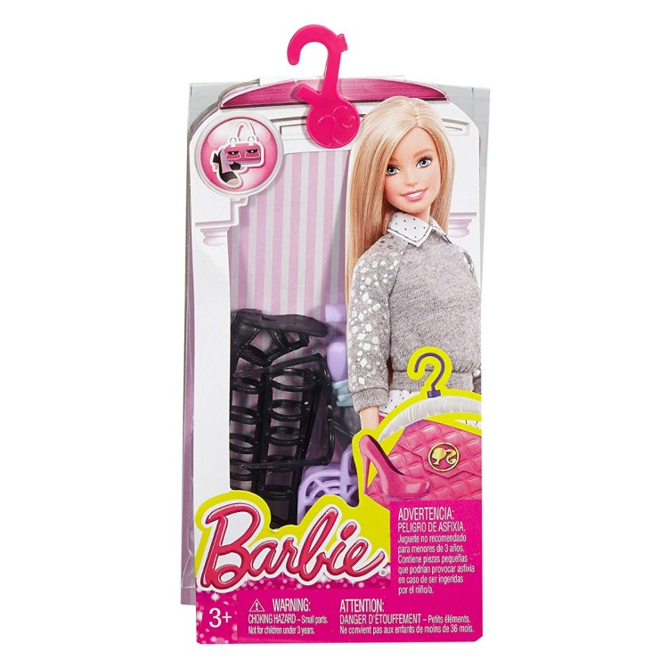 Barbie Accessory Pack Black and Purple