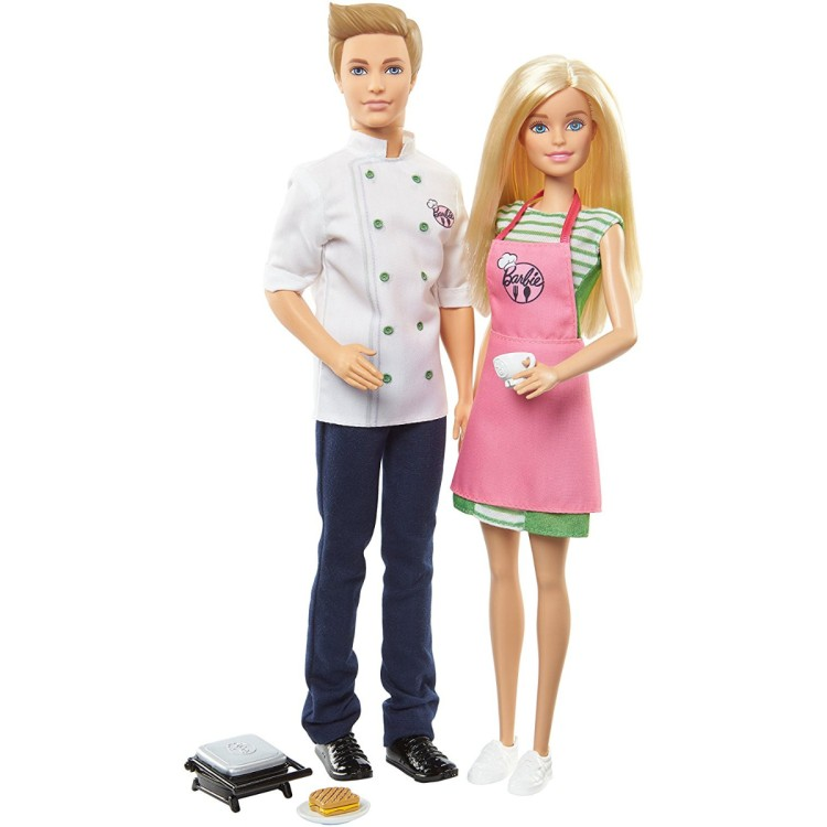 Barbie and Ken 2 doll set
