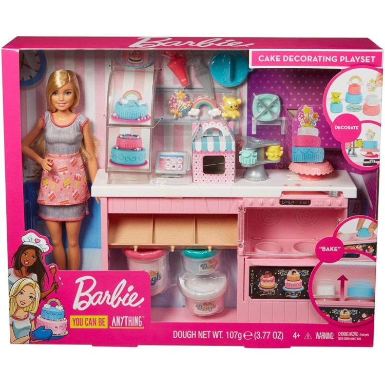 Barbie Cake Decorating Playset HALF PRICE!