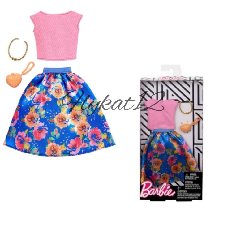 Barbie Fashion Outfit Floral