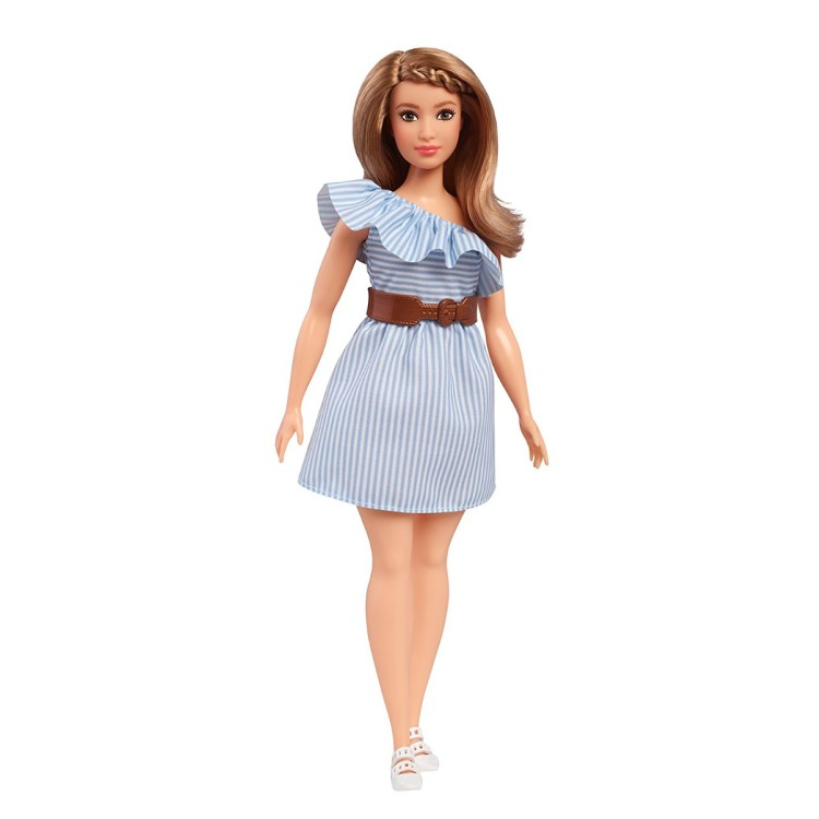 Barbie Fashionistas #76 - Pinstripe Dress