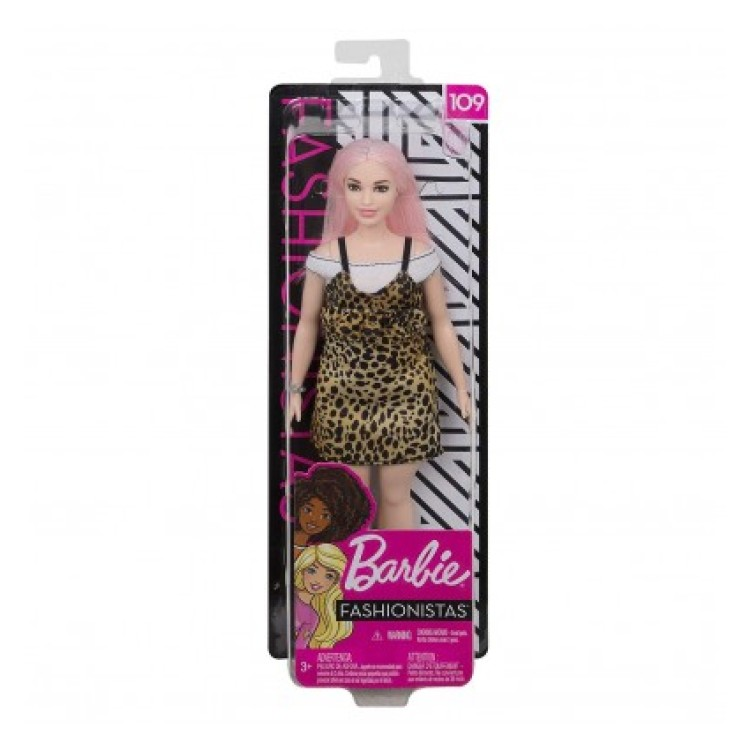 Barbie Fashionistas #109 - Leopard Dress