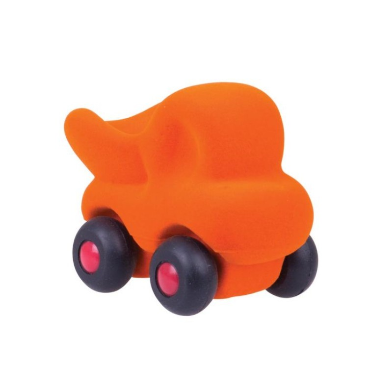 Bigjigs Rubbabu - Cleanupper The Micro Dump Truck - Orange