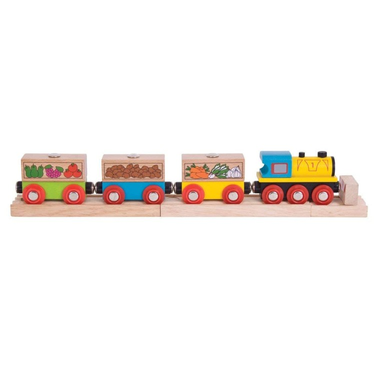 Bigjigs Rail - Fruit and Veg Train