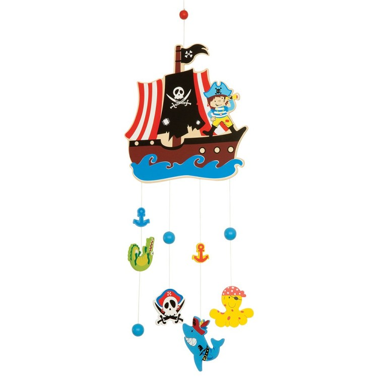 Bigjigs Hanging Mobile Pirate