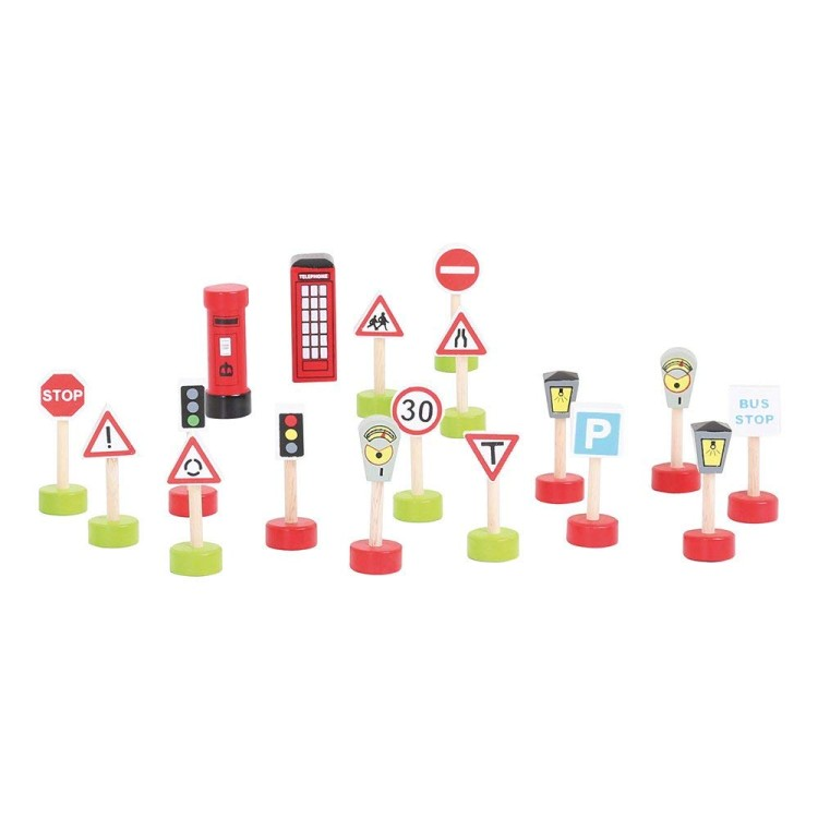 Bigjigs Rail - Signs Pack