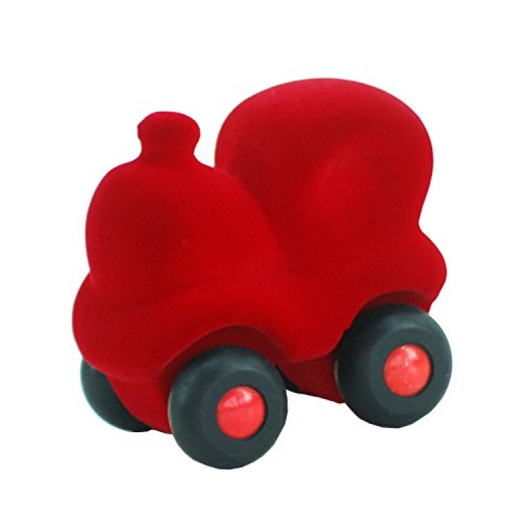 Bigjigs Rubbabu - The Micro Choo Choo Train - RED