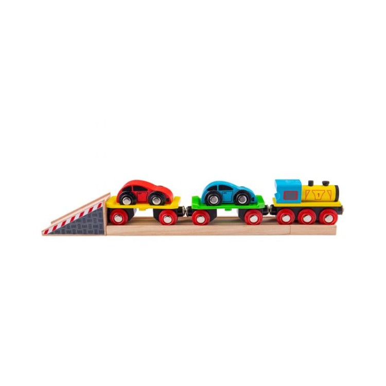 Bigjigs Rail - Car Loader New Barcode BJT199