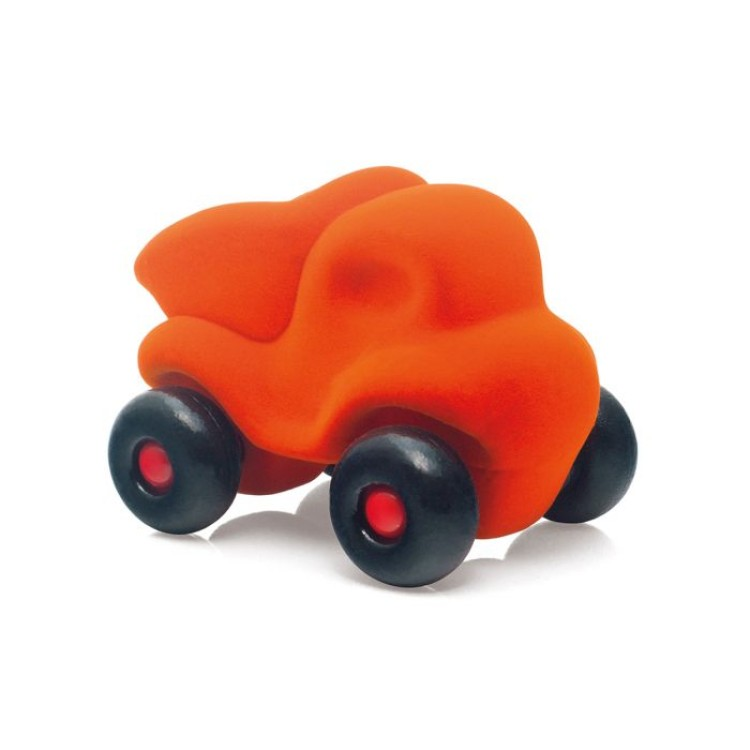 Bigjigs Rubbabu - The Little Dump Truck - Orange