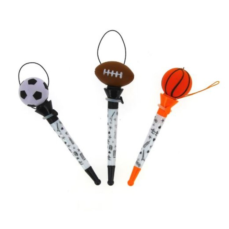 Blueprint  Pop Out Sports Pen