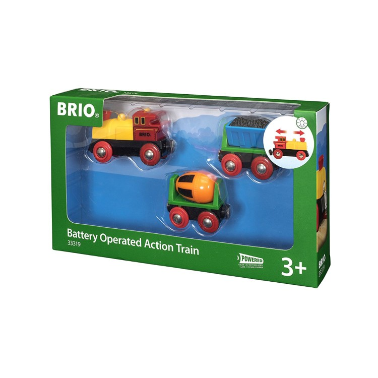 Brio World - 33319 Battery Operated Action Train
