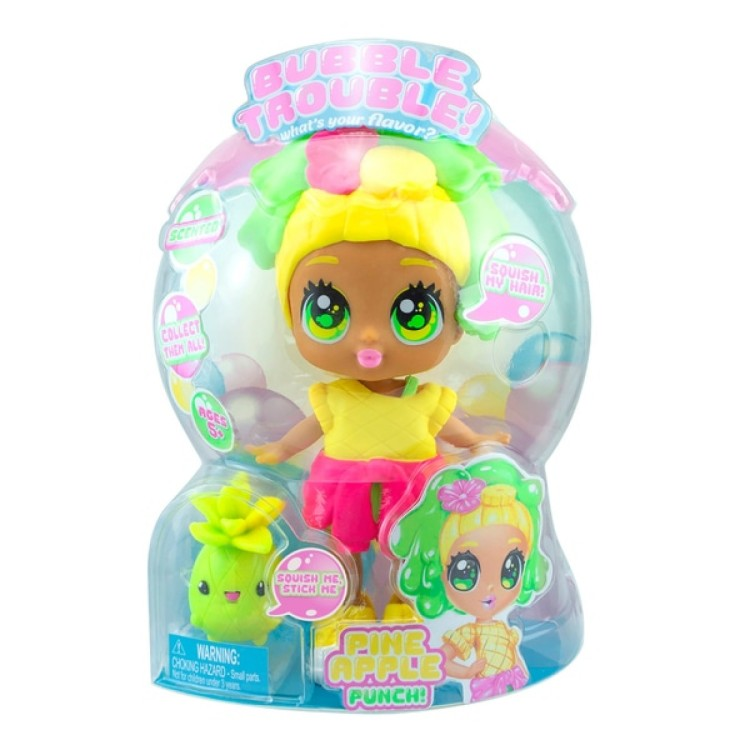 Bubble Trouble Pineapple Punch Doll