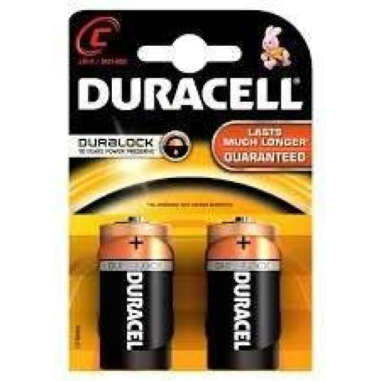 C Duracell 2pack
