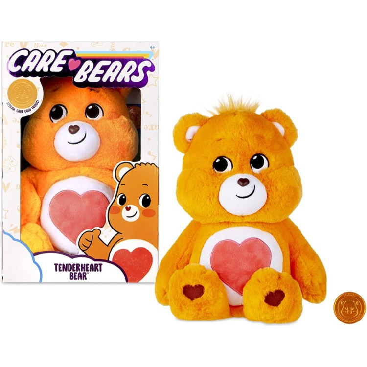 Care Bears Tenderheart Bear 14inch Medium In Box ORANGE