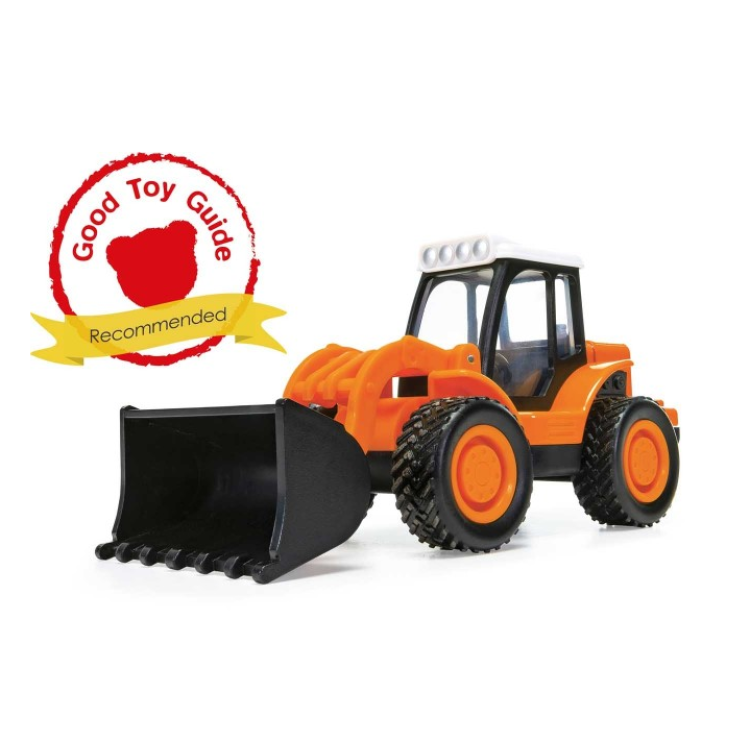 Chunkies Die-Cast Vehicle - Loader Tractor Construction (Orange)