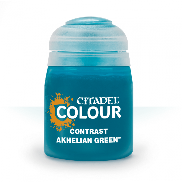 Citadel Contrast Akhelian Green Paint 24ml