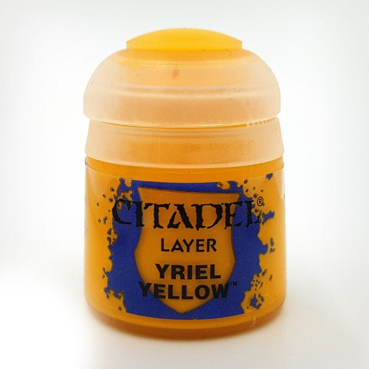 Citadel Paint Colour Layer Yriel Yellow 12ml
