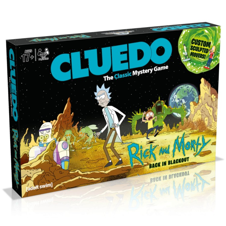 Cluedo game Rick And Morty edition