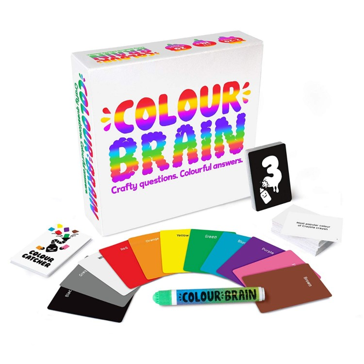 Big Potato Games Colour Brain The Ultimate Family Board Game