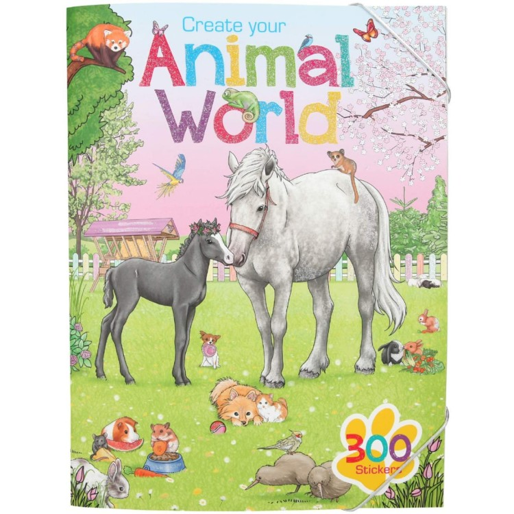 Create Your Animal World Colouring Book 11147