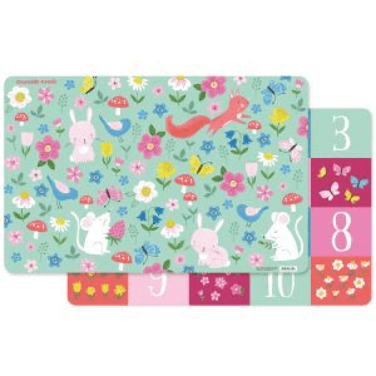 Crocodile Creek Playmat Backyard Friends