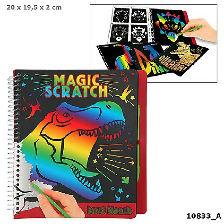 Dino World Magic Scratch 10833_A