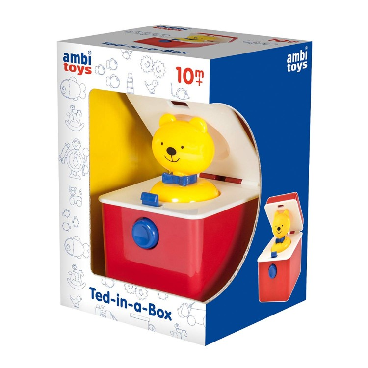 Ambi Toys Ted-in-a-Box