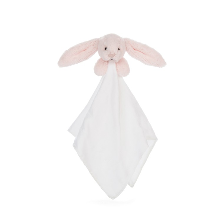 Jellycat Bashful Pink Bunny Muslin Soother