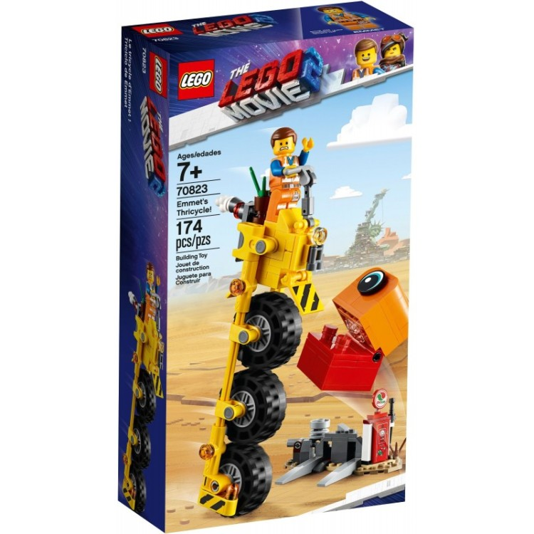 Lego Movie 2 - 70823 Emmets Thricycle