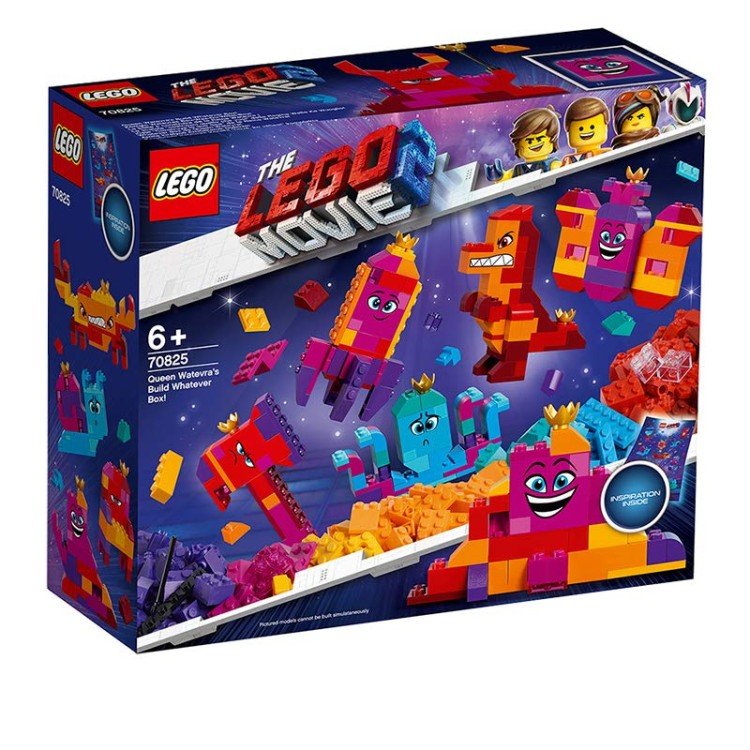Lego Movie 2 - 70825 Queen Watevras Build Whatever Box