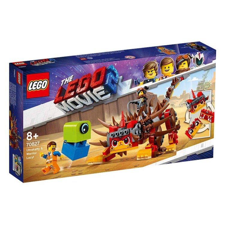 Lego Movie 2 -  70827 UltraKatty & Warrior Lucy